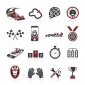 Photo Formula 1 icon set, sport icons and sticker