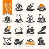 farma a řezník nakupovat sadu ikon