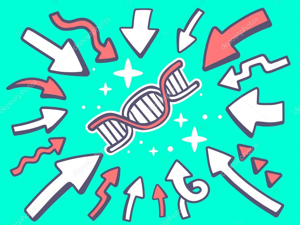 icon of dna molecule