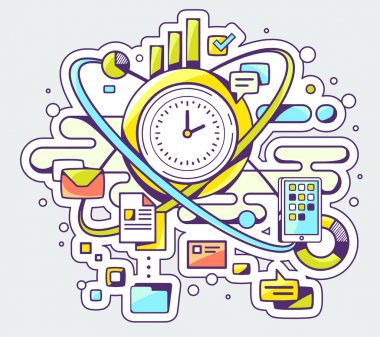 Time and business processes