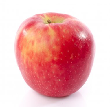 Fresh royal gala apple closeup