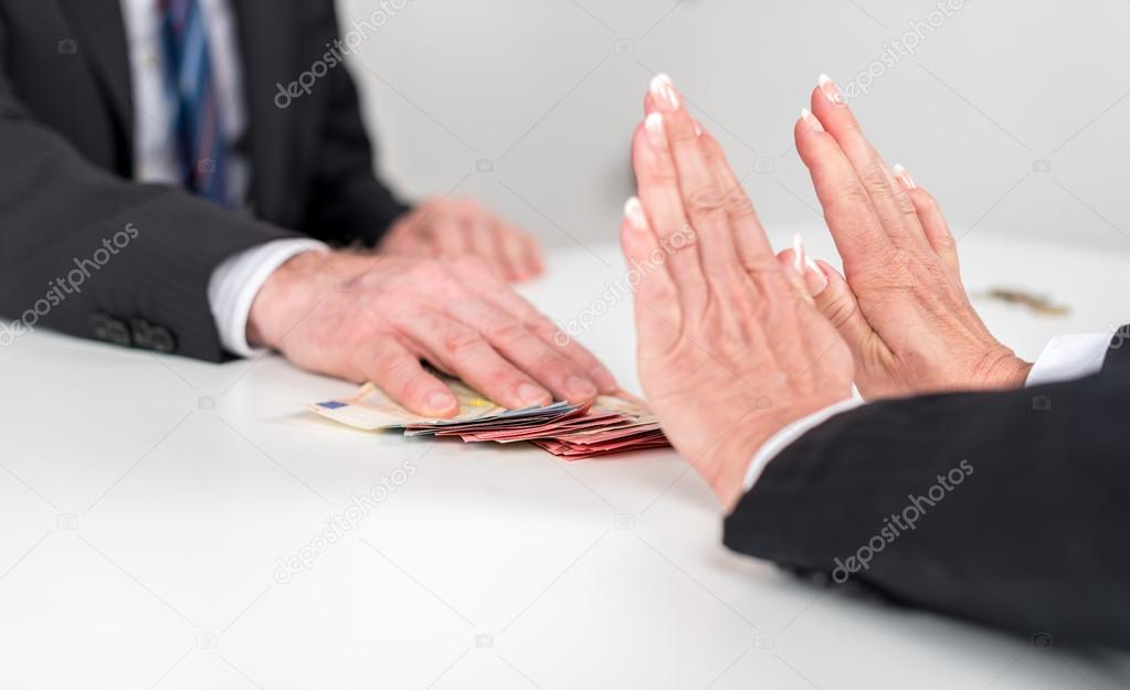 rejecting an offer