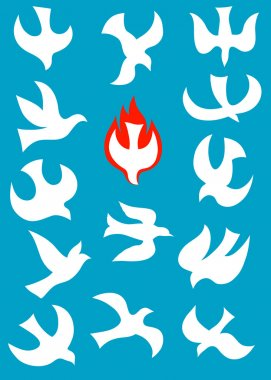 Dove Holy spirit set