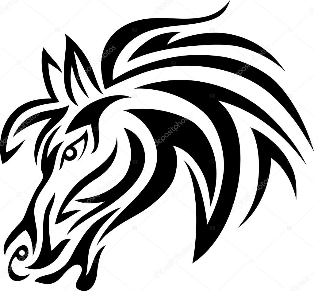 ᐈ Drawing A Horse Face Stock Drawings Royalty Free Horse Face Vectors Download On Depositphotos