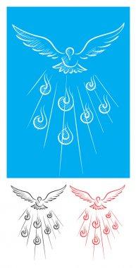 Holy spirit sketch
