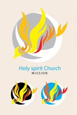 Holy spirit church logo