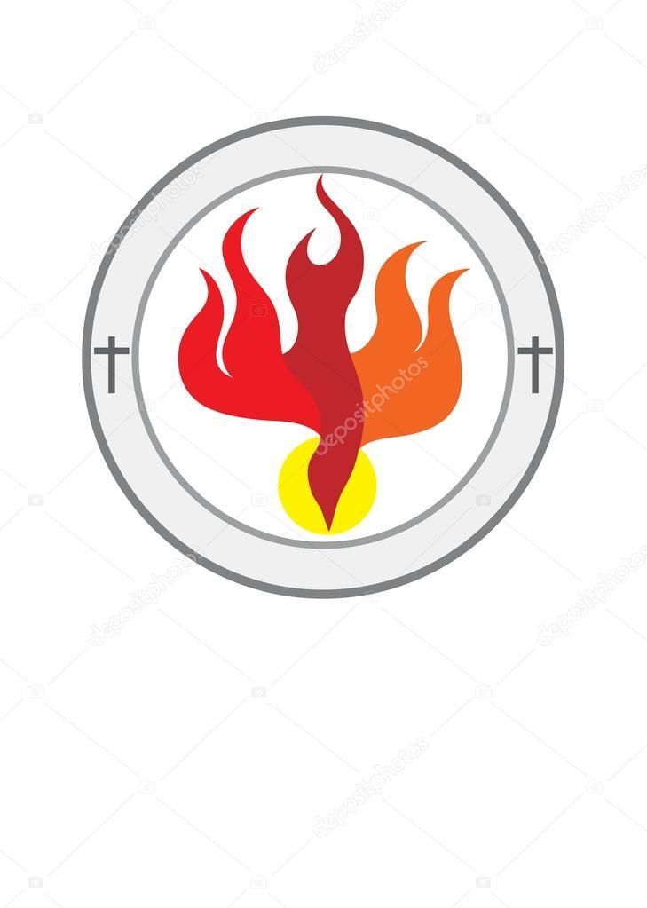 Holy spirit church logo