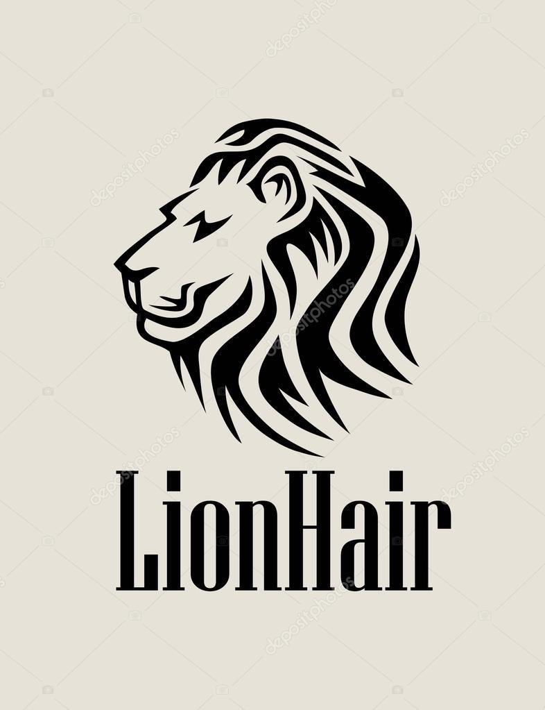 Lion Hair Logo