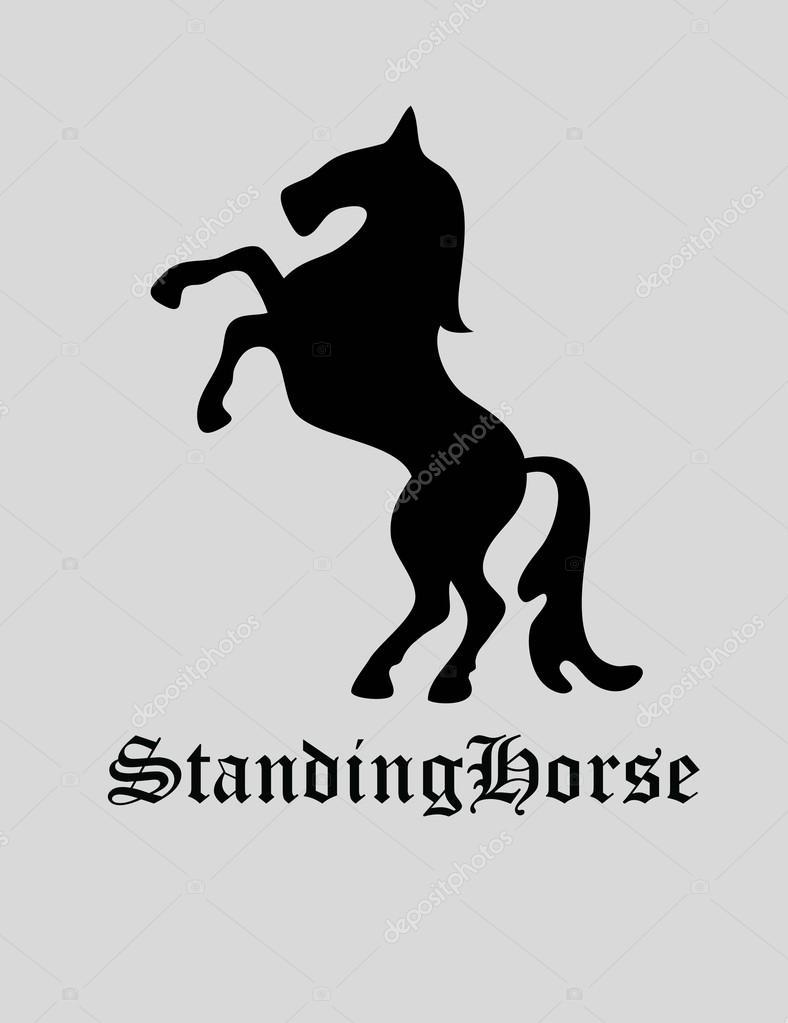 Standing Horse Logo