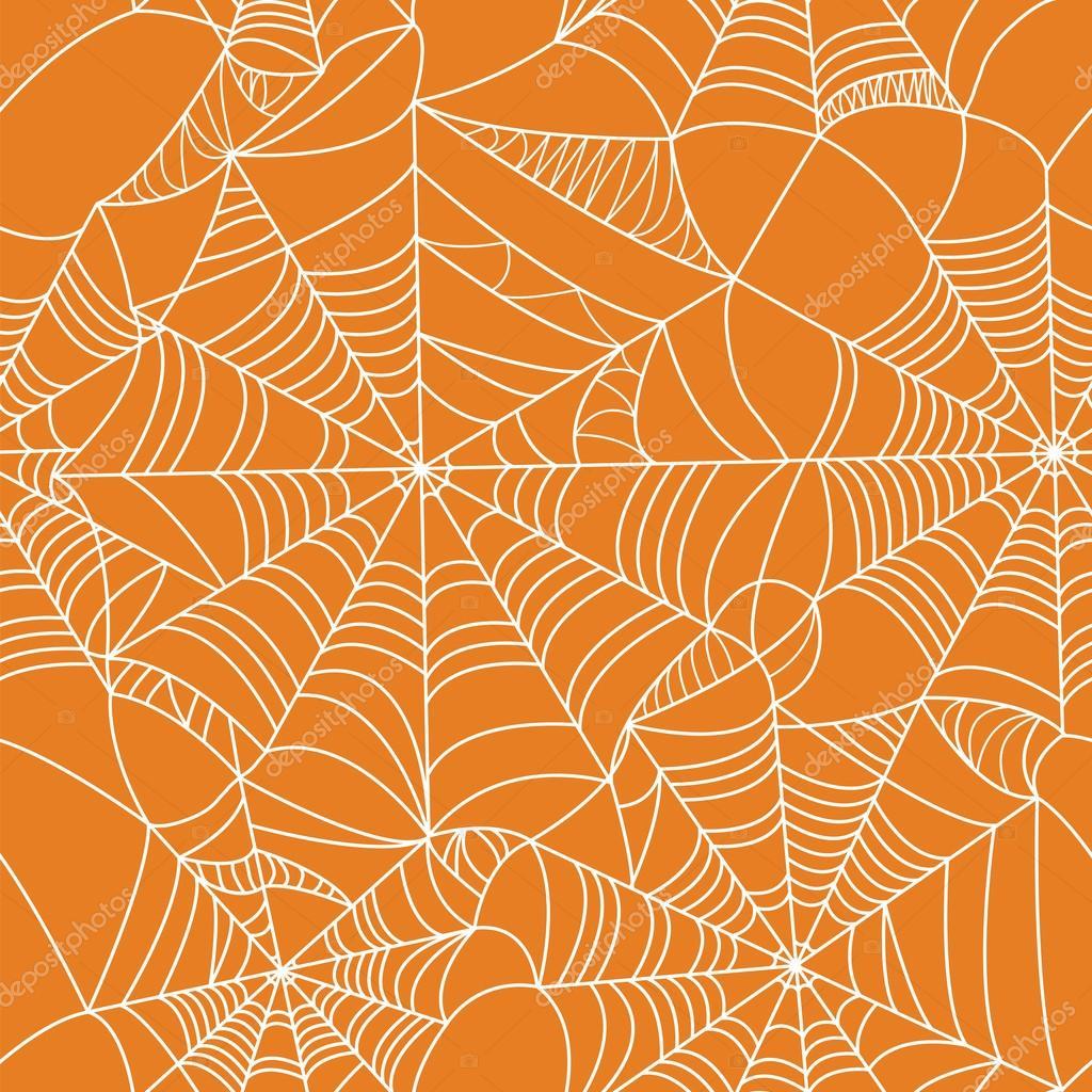 halloween spider web seamless pattern — stock vector © nicemosaic
