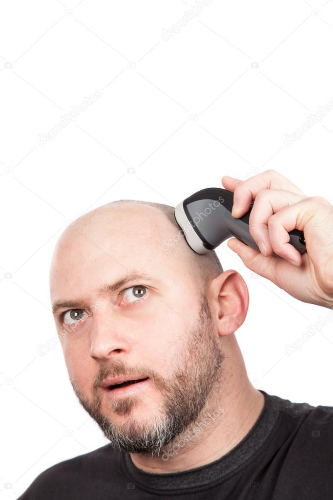 rakapparat huvud och skägg