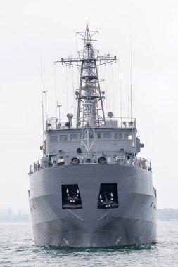 military ship at Black sea