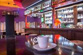 csésze kávé a coffeeshop