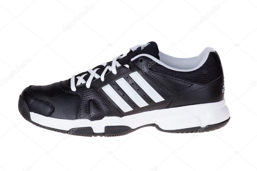 a9e84fa5aec692 Varna , Bulgaria - OCTOBER 16, 2014 :ADIDAS BARRACKS F10 shoes. Isolated on  white. Product shots — Photo by dechevm