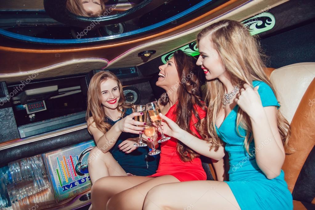 sexy Mädchen in der Partei