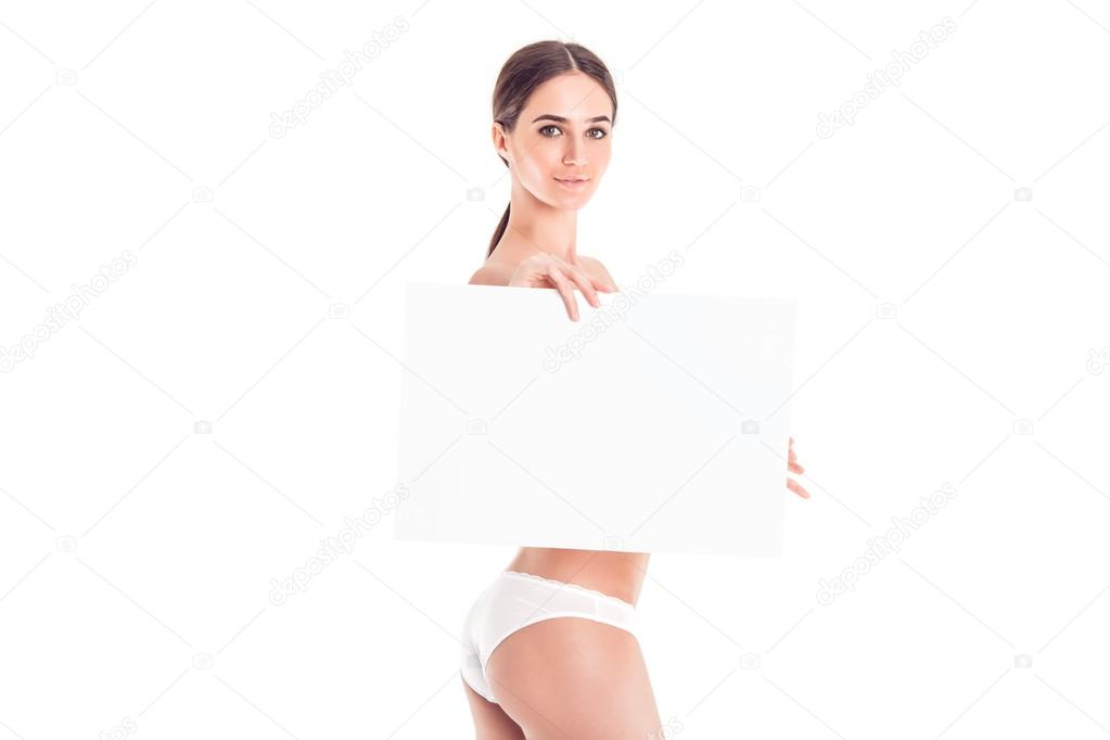 giovane nudista femminile
