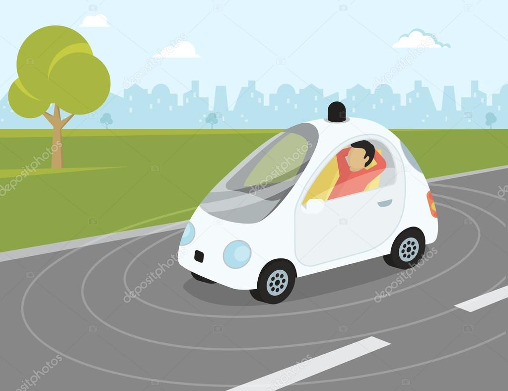 Control Systems Of Self Driving Car