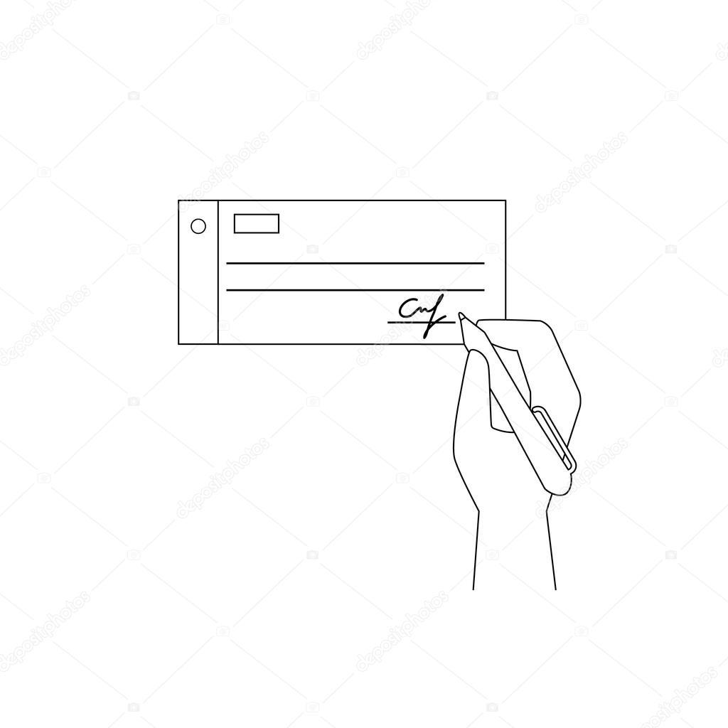 Betaling per factuur — Stockvector © Julia_Tim #57830763