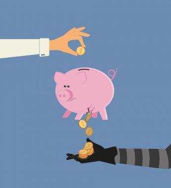 Money stealing