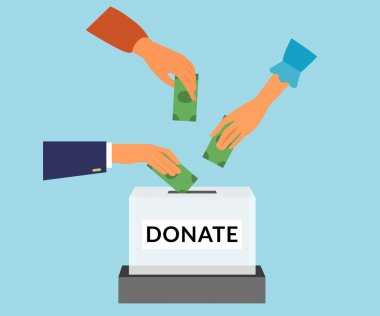 Donate illustration
