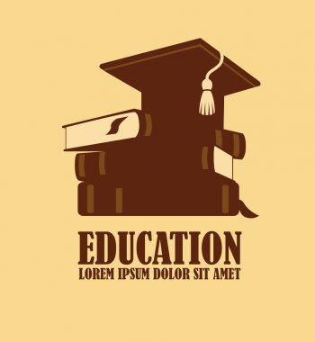 Education logo design template