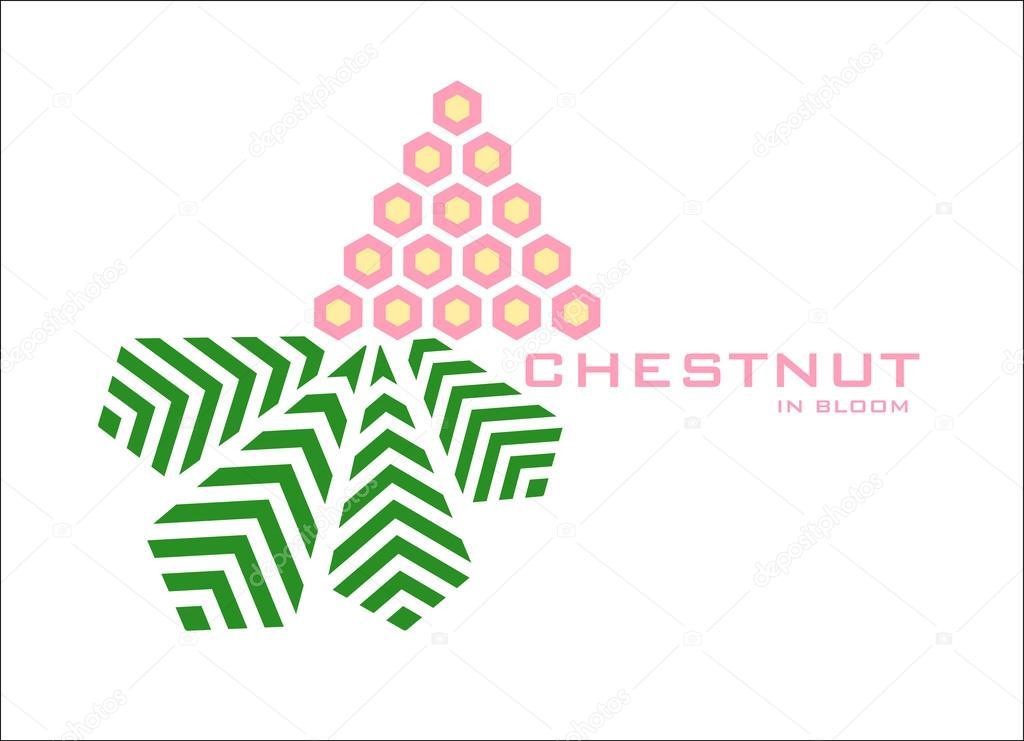 Blooming Chestnut logo design template