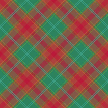 Pattern with classic plaid Fabric