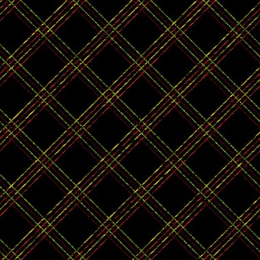 Scratchy tartan background for decoration or backdrop. Abstract