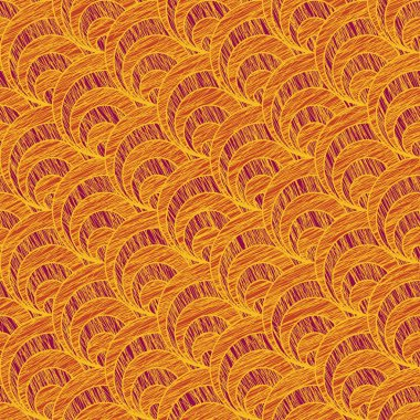 Grunge shell pattern. Based on Traditional Japanese Embroidery.