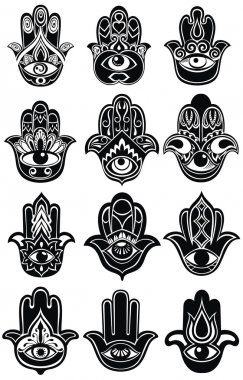 Collection of Hamsa hand