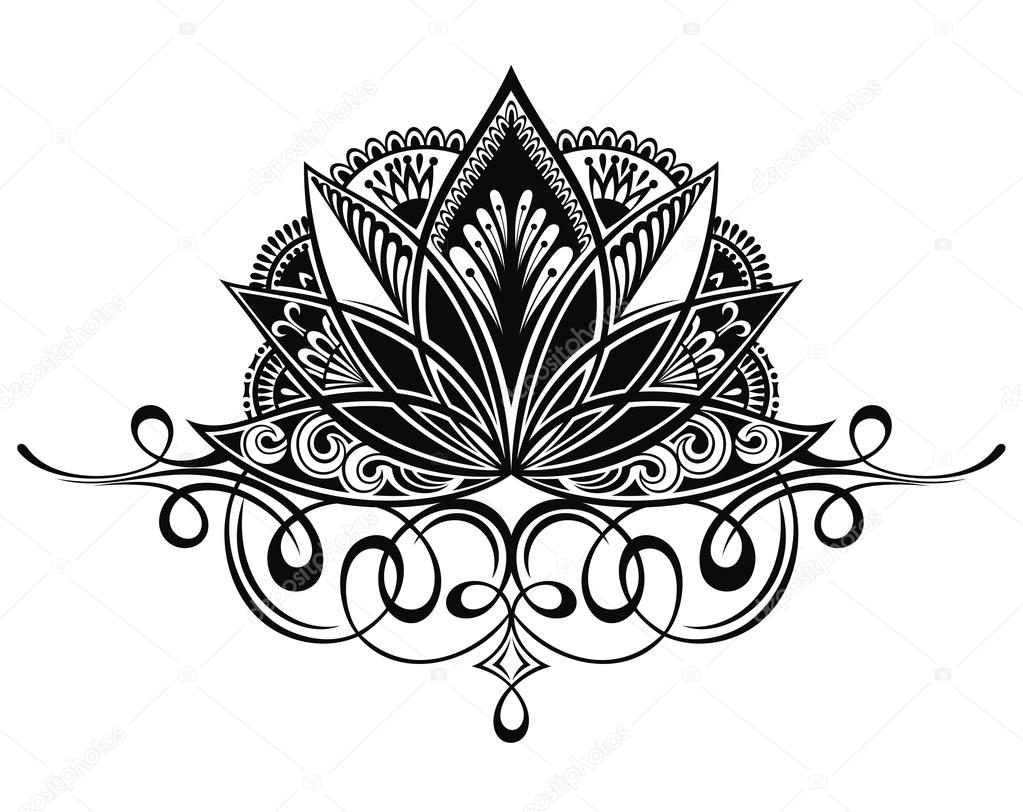 Filigree lotus flower stock vector ksyshakiss 110084818 filigree lotus flower stock vector izmirmasajfo
