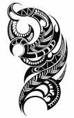 Maori tetoválás minta stílusú