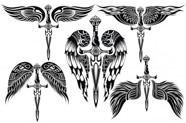 Wings and Sword big set