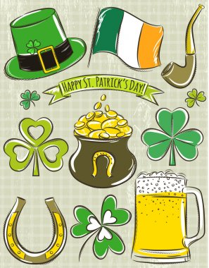 Design elements for  St Patricks Day