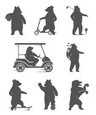 Photo Vector Set Bears
