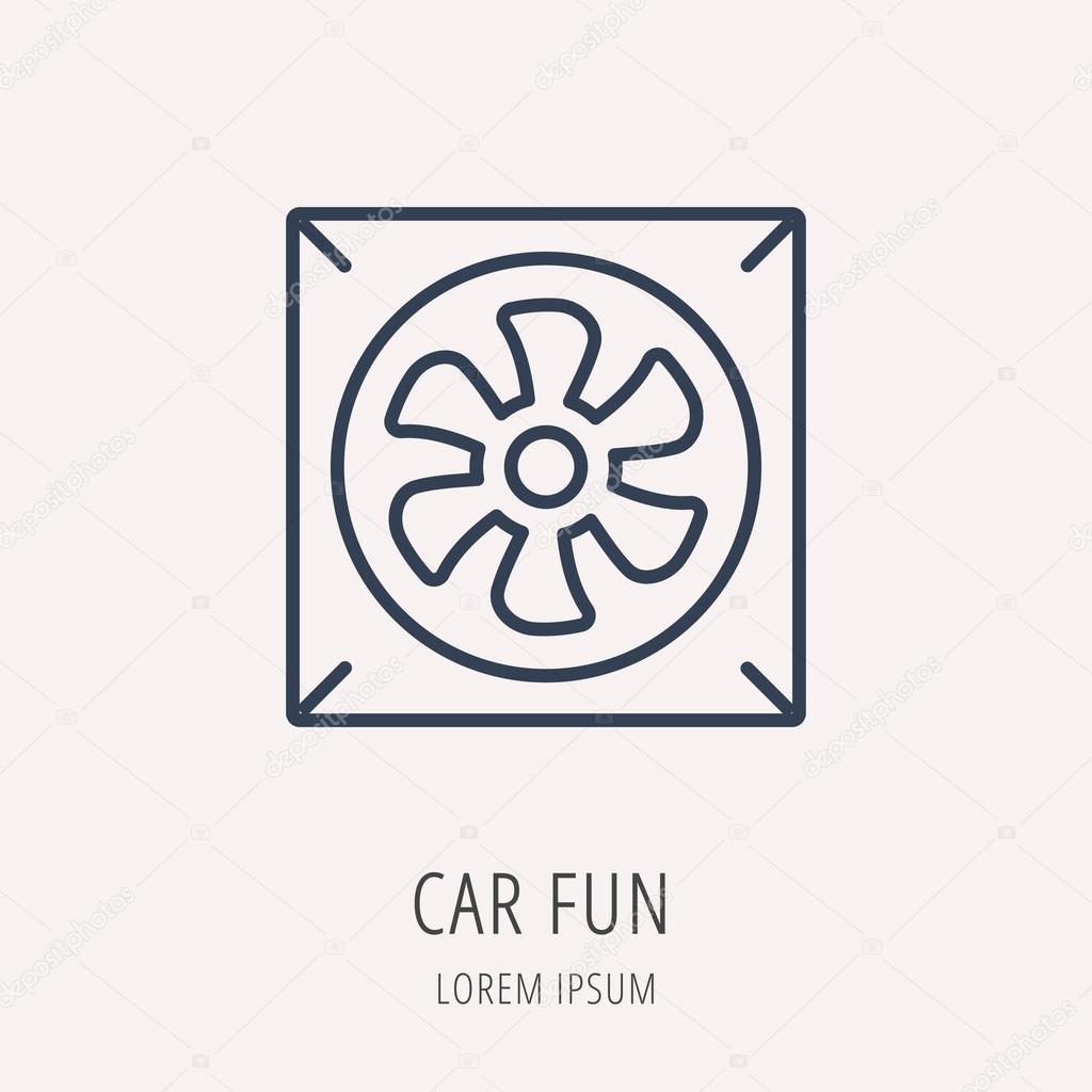 Einfaches Logo Vorlage Auto Vektorelemente — Stockvektor ...
