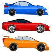 Sportovní vůz a svalové automobilů - vektorové