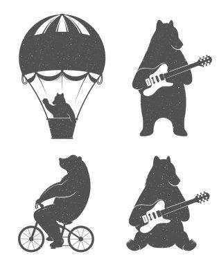 Fun Illustration Bears