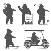 Photo Set Bear Symbols