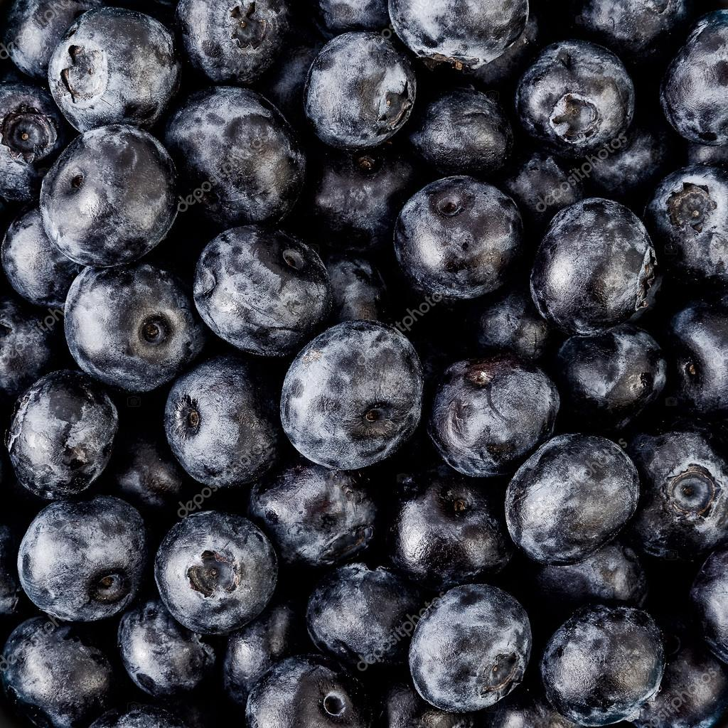 Blueberries, healthy and tasty berry