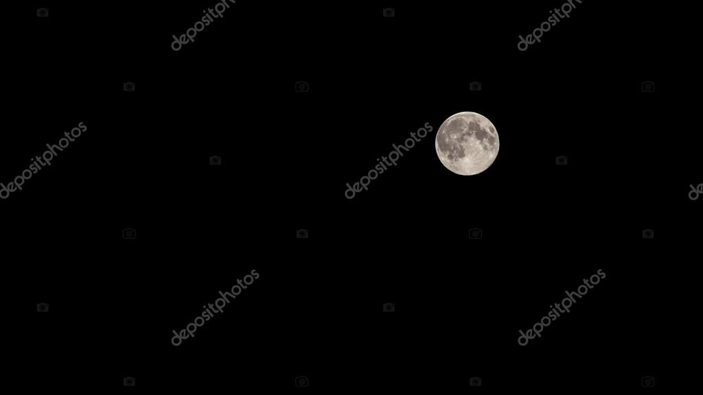 moon and starry sky