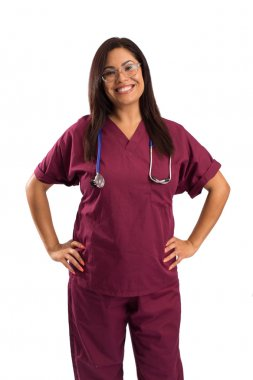 Woman doctor nurse