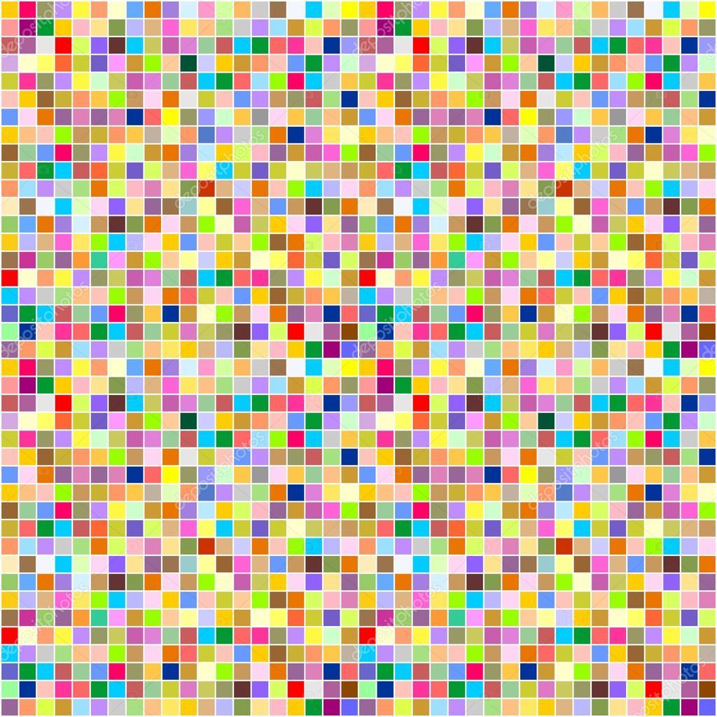 Sfondo colorato costituito da quadrati di diversi colori for Piani domestici di 2000 piedi quadrati