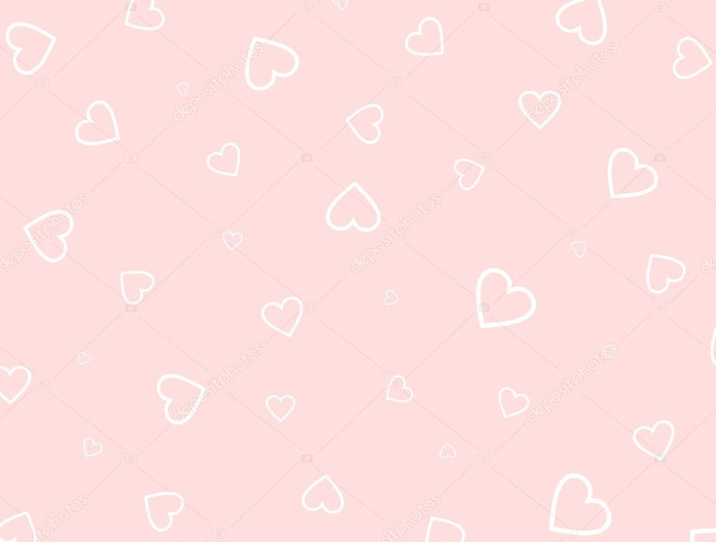 Sfondo Rosa Cuori Cuori Di Profilo Bianchi Su Sfondo Rosa