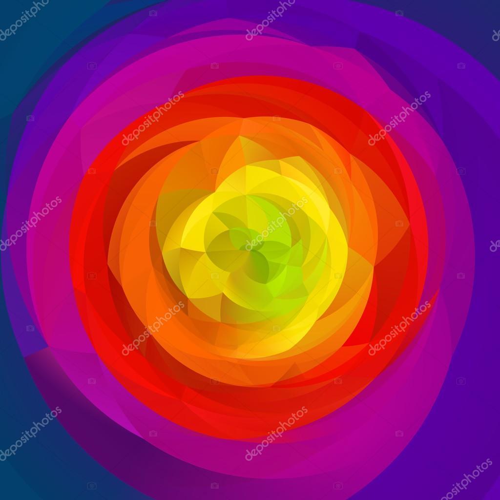 0fdce7af04 Abstrato moderno redemoinho de cores de azul e vibrante de fundo - todas as  cores do arco-íris espectro colorido-– imagens de bancos de imagens