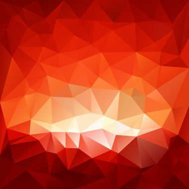 Vector background with irregular tessellations pattern - hell