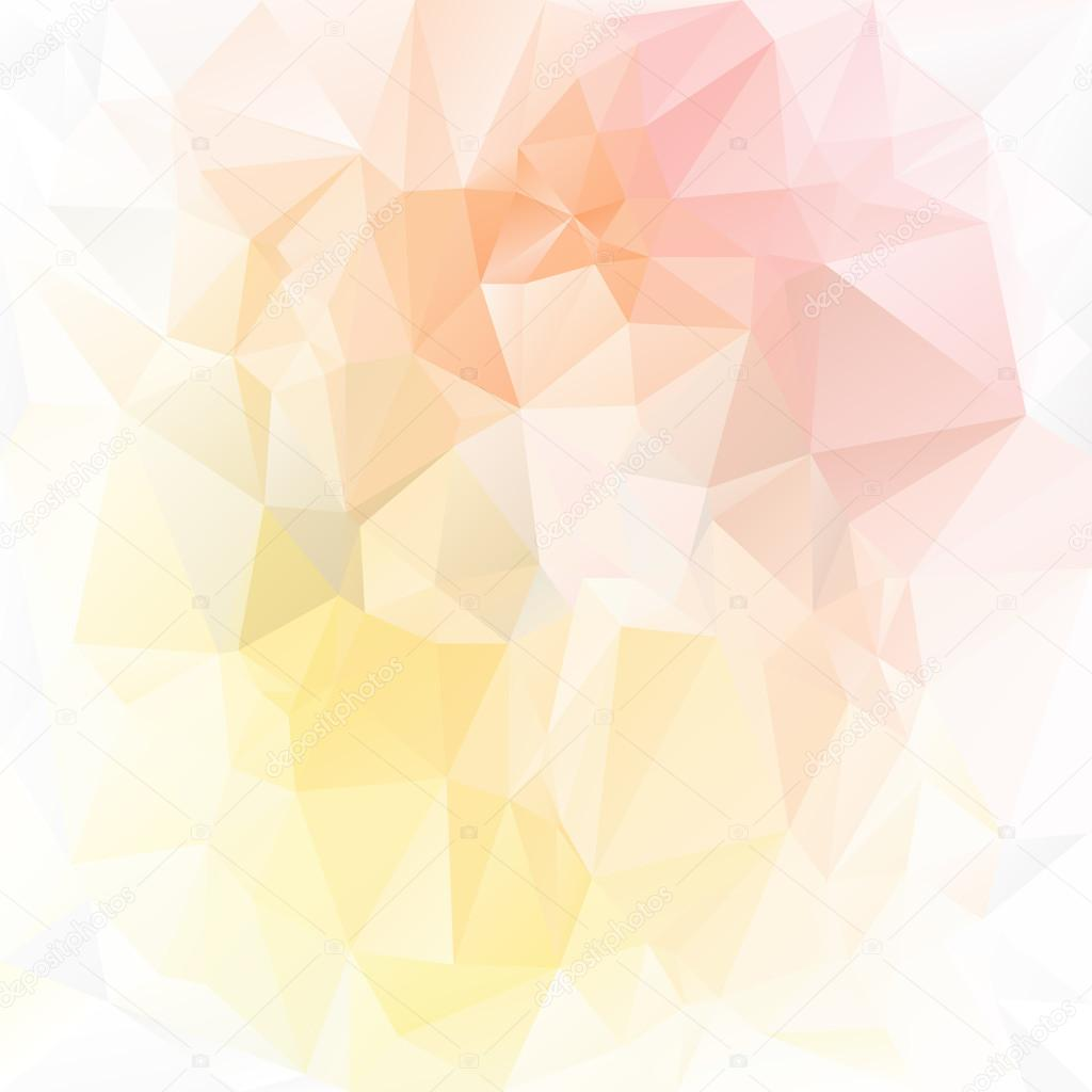 vector polygonal background pattern triangular design in light spring pastel tender colors yellow pink peach orange stock vector c ardely 63787233 https depositphotos com 63787233 stock illustration vector polygonal background pattern triangular html