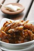 česnek okurky - populární indická okurka z česneku nebo lehsun
