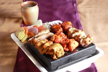 Kebab Platter from India