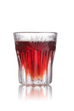 Red-headed slut shot cocktail
